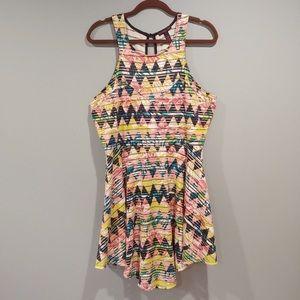 Funky Material Girl Sleeveless Dress